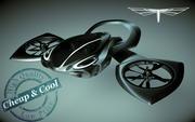 Hover Car 01 Heli 3d model
