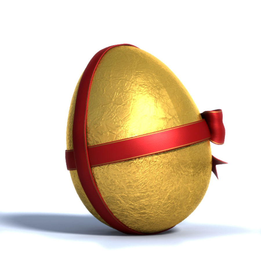 Easter Egg royalty-free 3d model - Preview no. 3