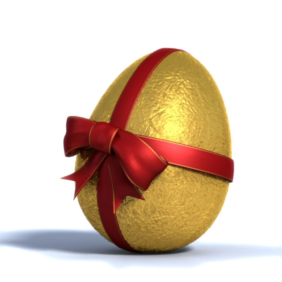 Easter Egg royalty-free 3d model - Preview no. 1
