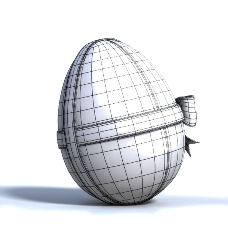 Easter Egg royalty-free 3d model - Preview no. 5
