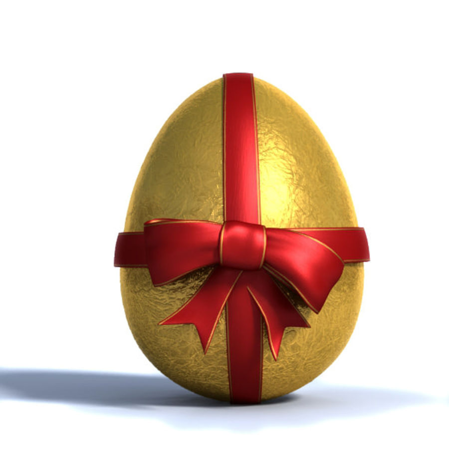 Easter Egg royalty-free 3d model - Preview no. 2
