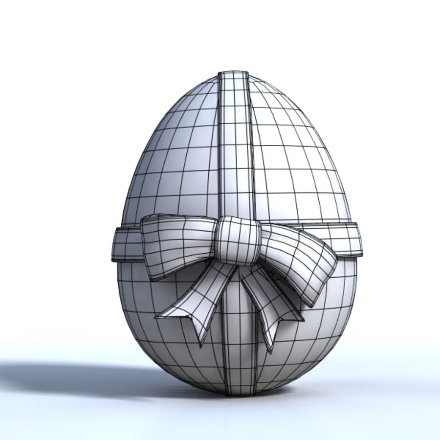 Easter Egg royalty-free 3d model - Preview no. 6