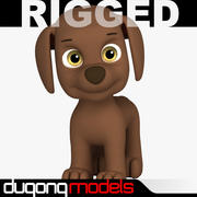 Paw Patrol Dog 04 3d model