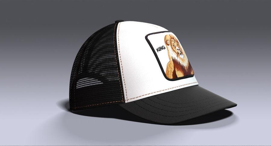 1552feae0 Goorin Brothers Animal Farm King Hat 3D Model $29 - .max .obj .ma ...