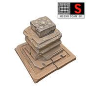 Древняя Красная Скала 8K 3d model