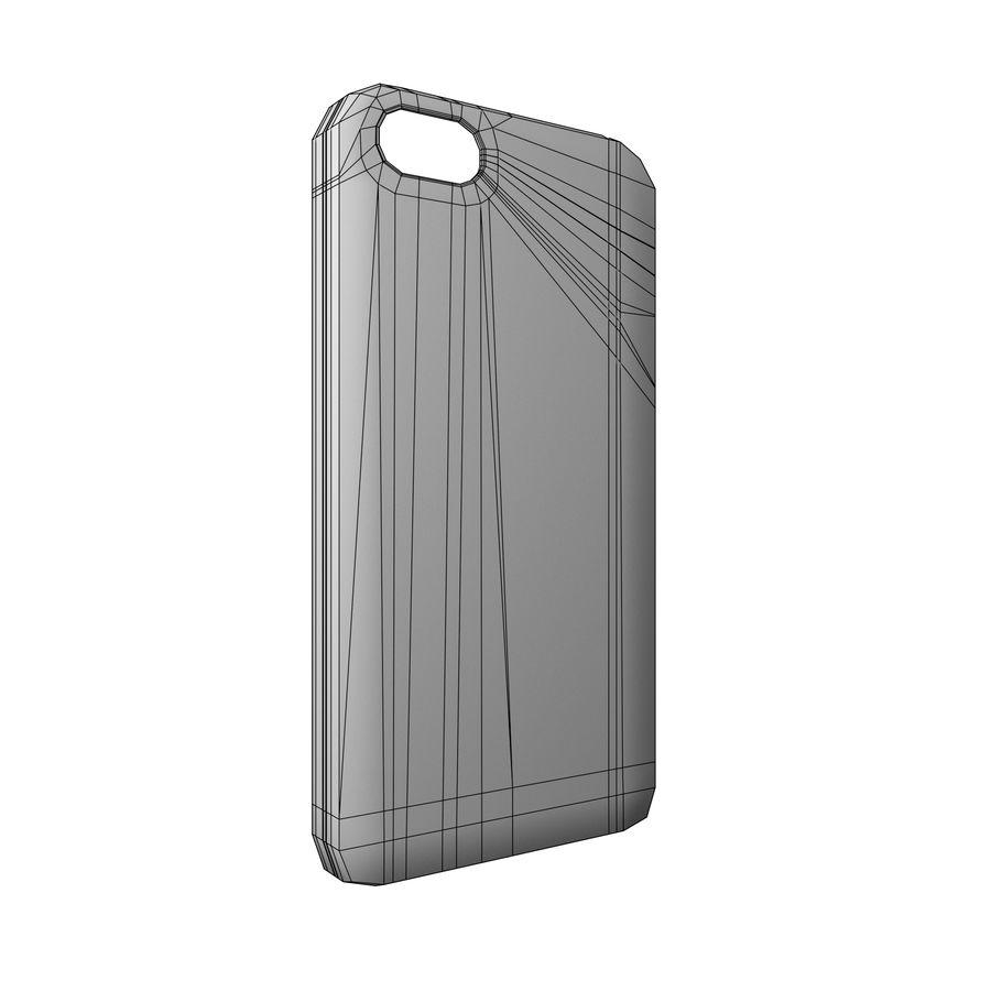 Custodia per iPhone 5c royalty-free 3d model - Preview no. 4