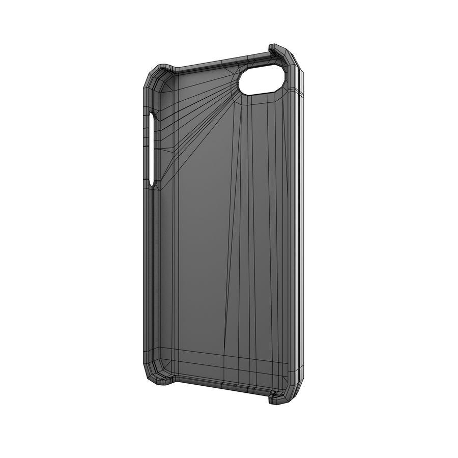 Custodia per iPhone 5c royalty-free 3d model - Preview no. 6