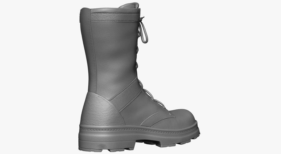 Stivali dell'esercito royalty-free 3d model - Preview no. 7
