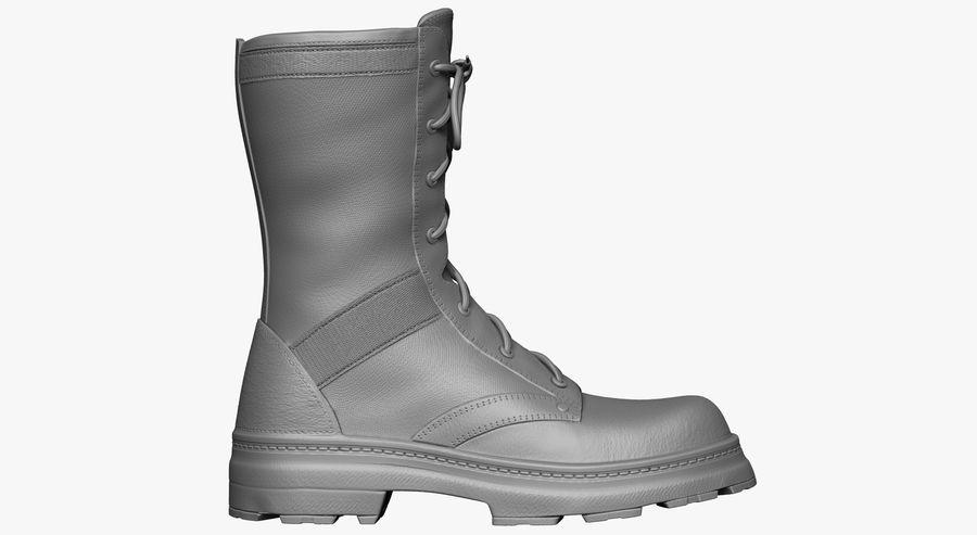 Stivali dell'esercito royalty-free 3d model - Preview no. 2