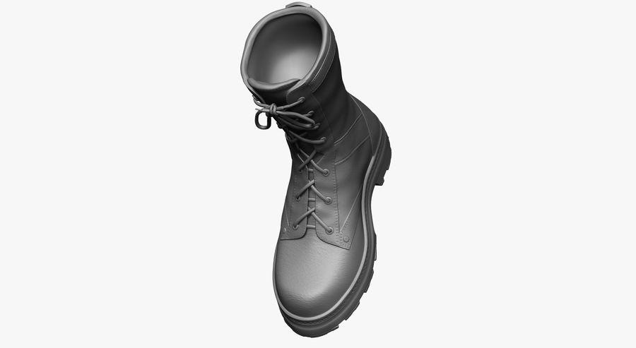 Stivali dell'esercito royalty-free 3d model - Preview no. 8