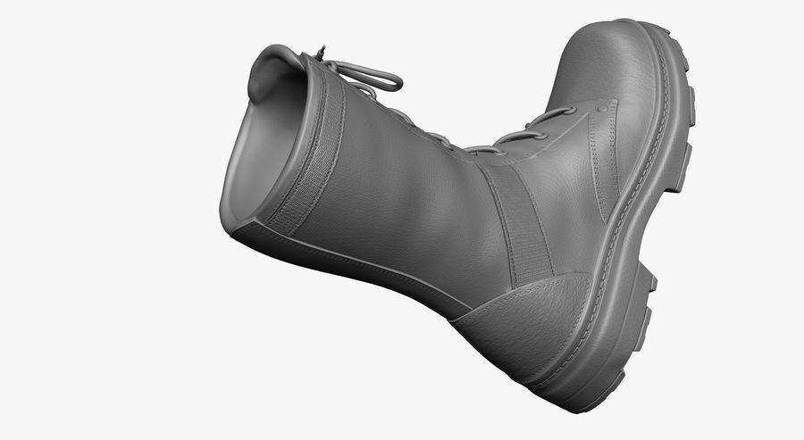 Stivali dell'esercito royalty-free 3d model - Preview no. 11