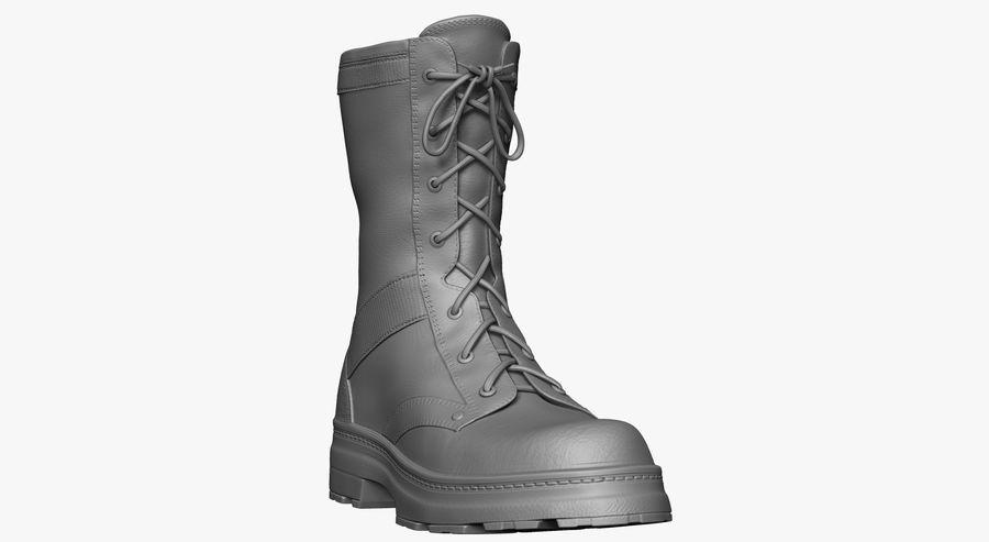 Stivali dell'esercito royalty-free 3d model - Preview no. 4