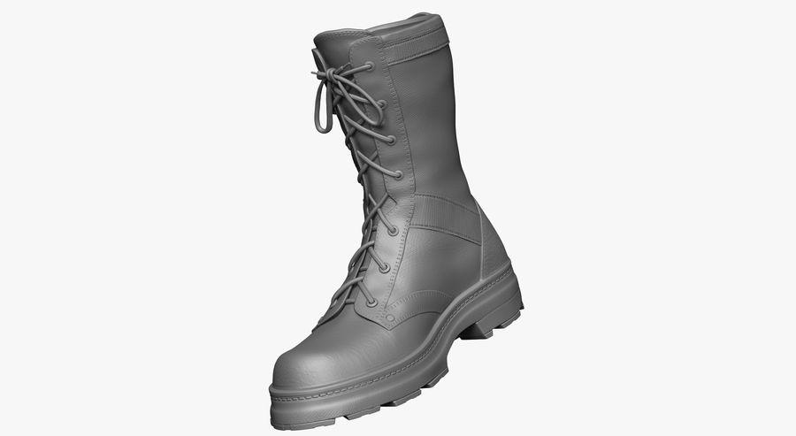 Stivali dell'esercito royalty-free 3d model - Preview no. 5