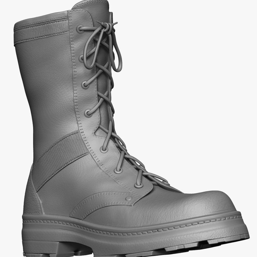 Stivali dell'esercito royalty-free 3d model - Preview no. 1