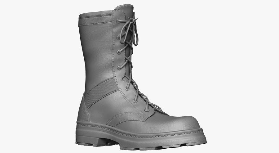 Stivali dell'esercito royalty-free 3d model - Preview no. 3