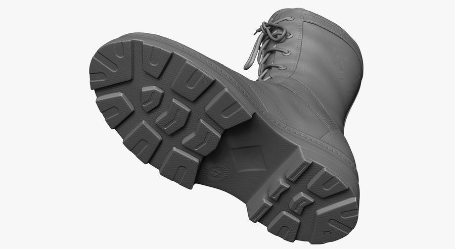 Stivali dell'esercito royalty-free 3d model - Preview no. 10