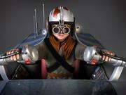 星球大战Pod Racer与Anakin 3d model