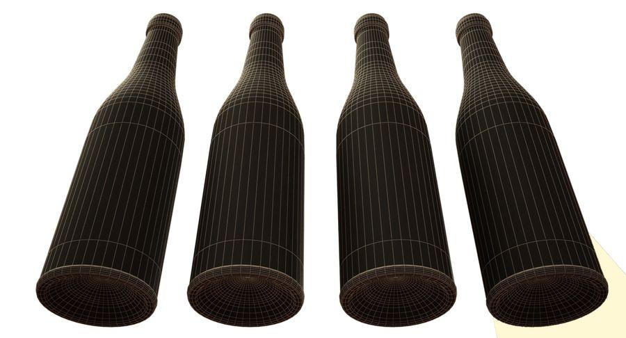 garrafa de vinho royalty-free 3d model - Preview no. 9