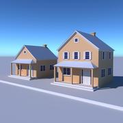Haus Bauernhof 3d model