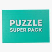 Puzzle Super Pack 3d model