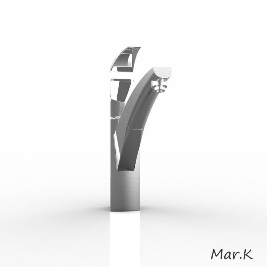 appuyez sur Franke fm 7780 royalty-free 3d model - Preview no. 6