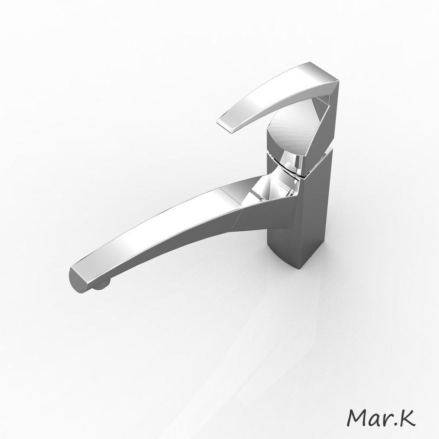 appuyez sur Franke fm 7780 royalty-free 3d model - Preview no. 3