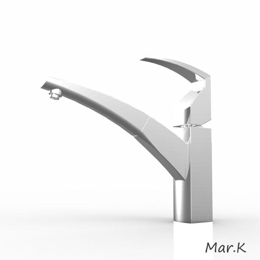 appuyez sur Franke fm 7780 royalty-free 3d model - Preview no. 2