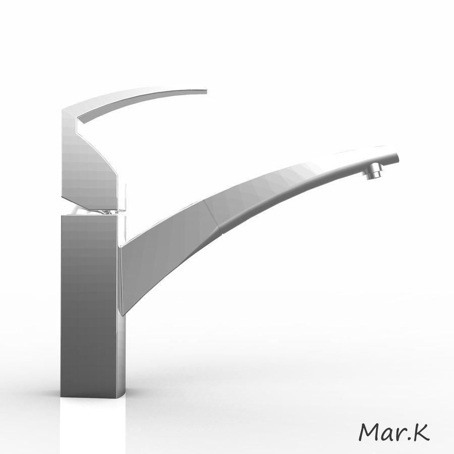 appuyez sur Franke fm 7780 royalty-free 3d model - Preview no. 5