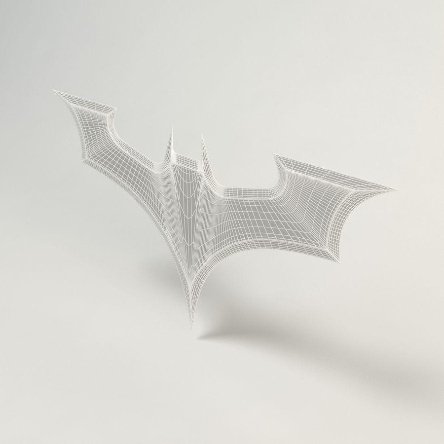 Batman Batarang royalty-free modelo 3d - Preview no. 4