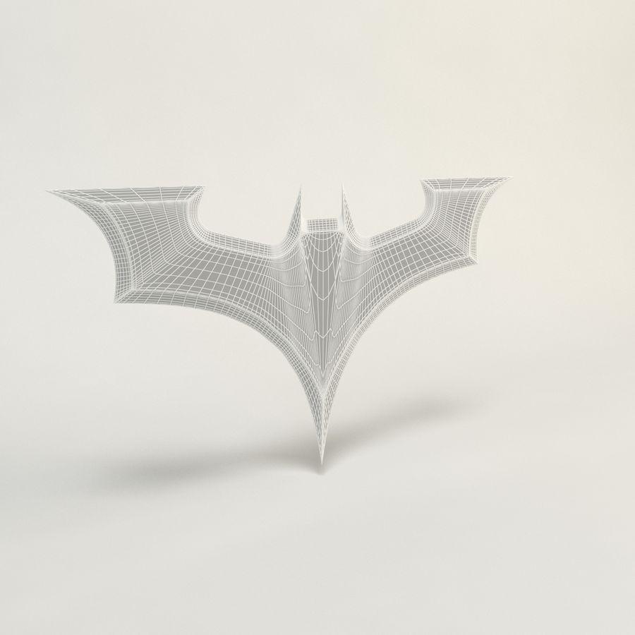 Batman Batarang royalty-free modelo 3d - Preview no. 2