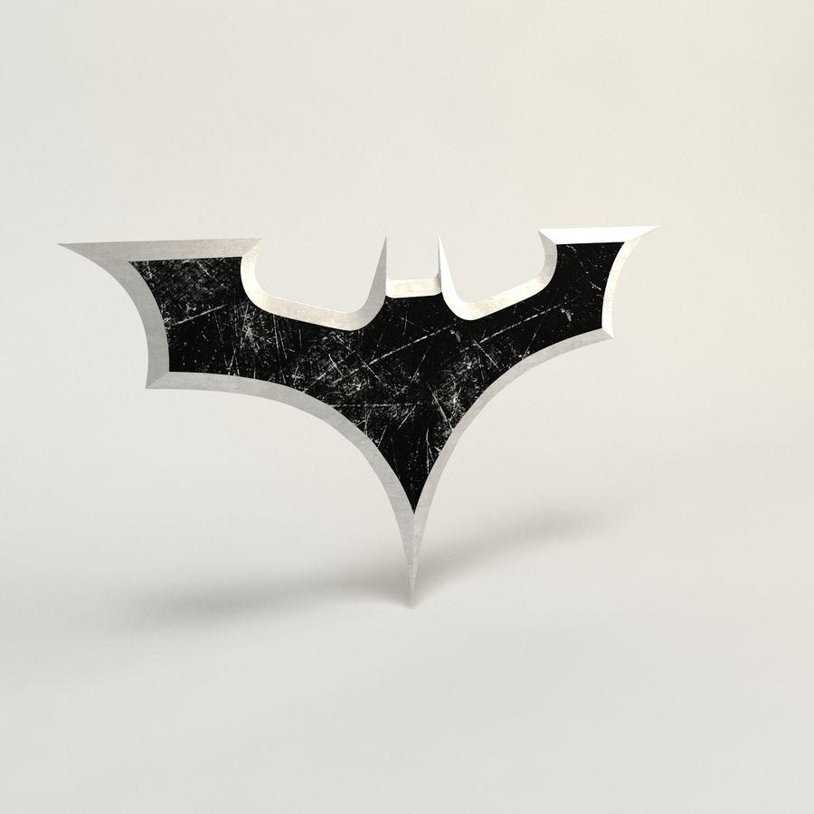 Batman Batarang royalty-free modelo 3d - Preview no. 1