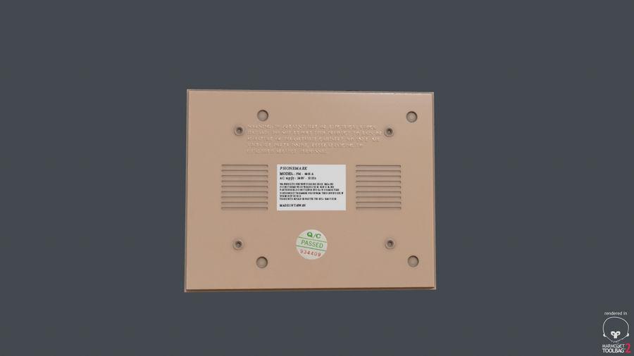 Cassette Recorder Phonemark royalty-free 3d model - Preview no. 3