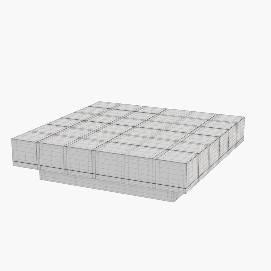Kolaylaştırılmış Papillon Low Table royalty-free 3d model - Preview no. 6