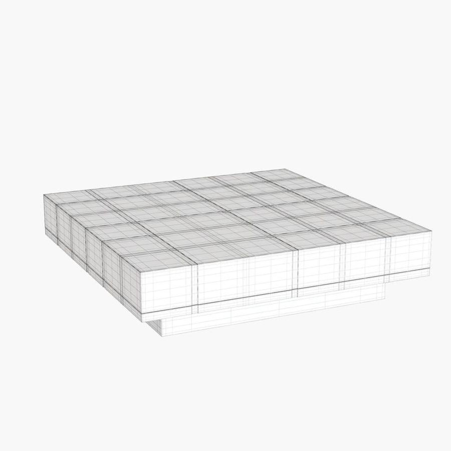 Kolaylaştırılmış Papillon Low Table royalty-free 3d model - Preview no. 8