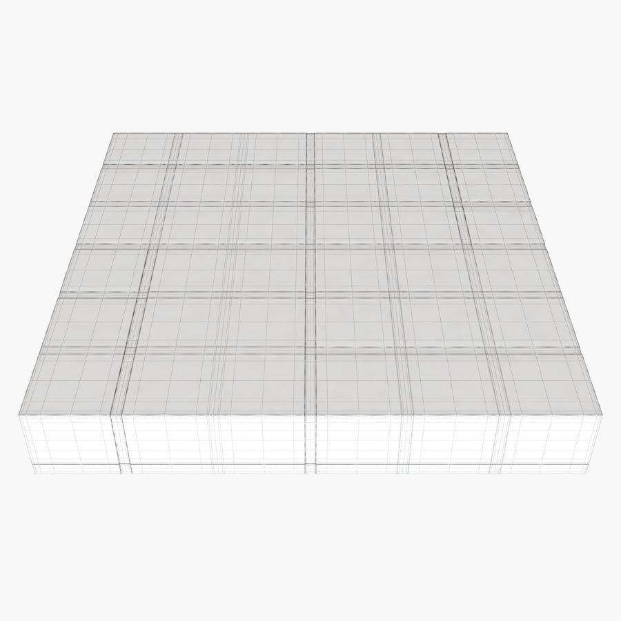 Mesa baixa simplificada de Papillon royalty-free 3d model - Preview no. 9