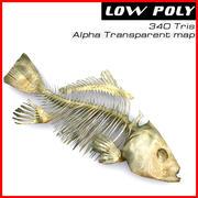 Balık iskeleti 3d model