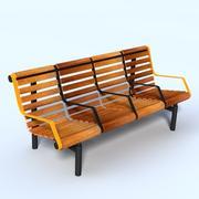 长凳 3d model