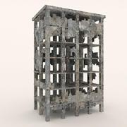 Edifici in rovina 3d model