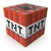 Minecraft TNT 3d model