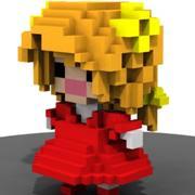 Mädchen 3d model
