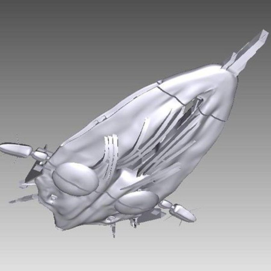 Stargate Atlantis Wraith Hive 3d Model 10 Stl Free3d