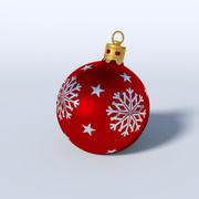 圣诞摆设 3d model