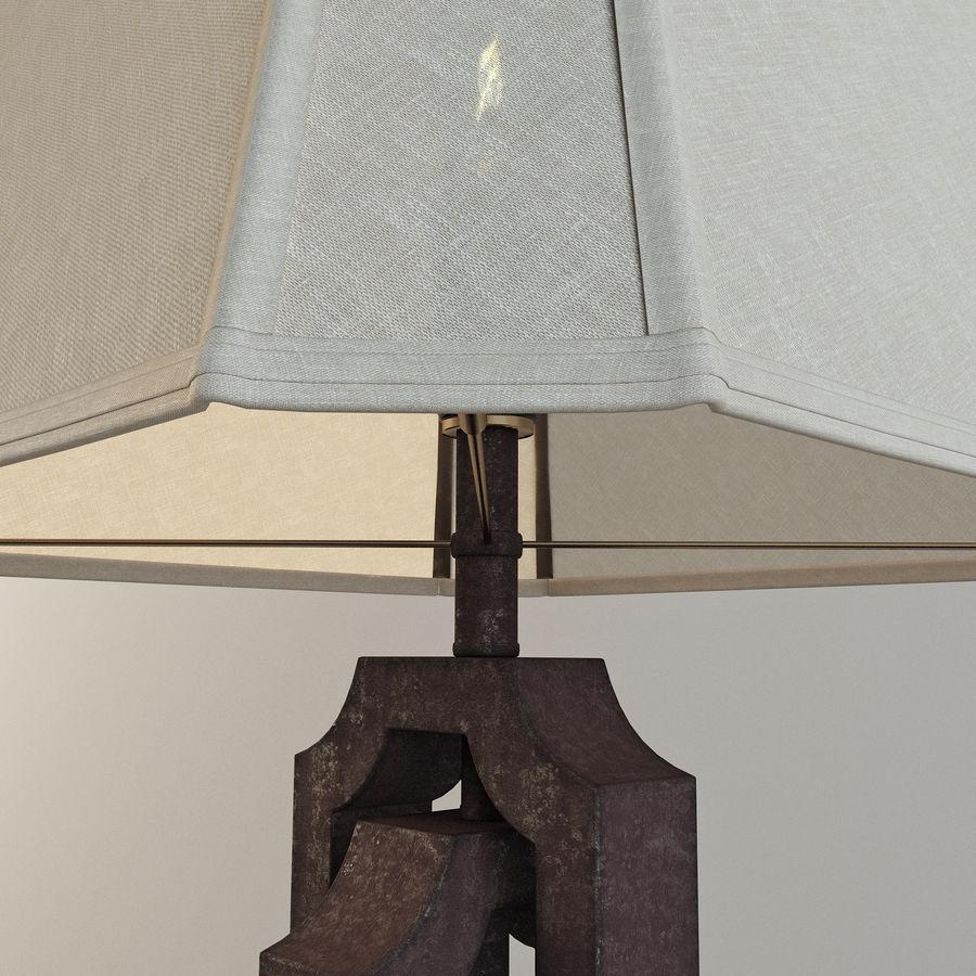 Lampa stołowa Scottey i stół Dexifield (Ashley) royalty-free 3d model - Preview no. 4