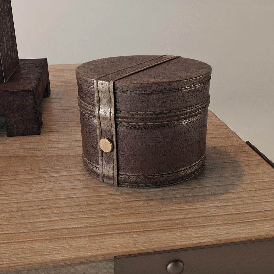 Lampa stołowa Scottey i stół Dexifield (Ashley) royalty-free 3d model - Preview no. 3