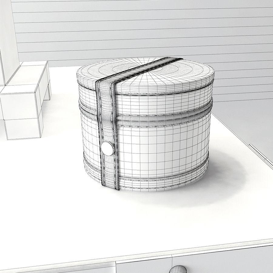 Lampa stołowa Scottey i stół Dexifield (Ashley) royalty-free 3d model - Preview no. 5