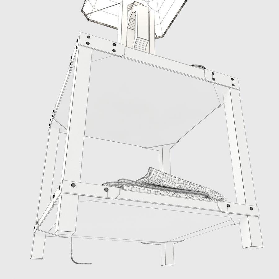 Lampa stołowa Scottey i stół Dexifield (Ashley) royalty-free 3d model - Preview no. 8