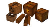 Box Pack Game ready 3d model