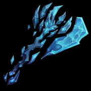 Low Poly - Hand Painted Fantasy Epic Game Axe 3d model