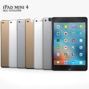 Ipad Mini 4 3d model