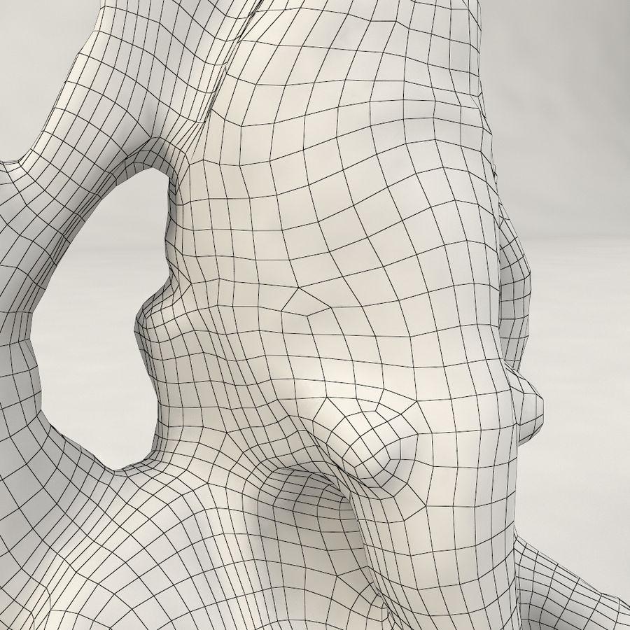 God Ganesha figuur royalty-free 3d model - Preview no. 12